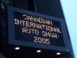 Canadian International Auto Show 2005